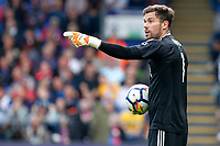 Ben Foster of West Brom pointing during the EPL - Premier League match between Crystal Palace and West Bromwich Albion at Selhurst Park, London, England on 13 May 2018. Photo by Carlton Myrie / PRiME Media Images.