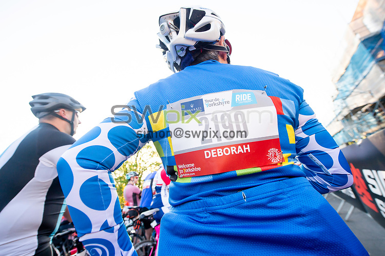 Picture by Allan McKenzie/SWpix.com - 06/05/2018 - Cycling - Maserati Human Race Sportive, Leeds, England - Riders prepare to race.