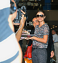 Miranda Kerr, Sep 07, 2012 : Miranda Kerr, Tokyo, Japan, September 7, 2012 : Model Miranda Kerr arrives at Narita International Airport in Chiba prefecture, Japan on September 7, 2012.