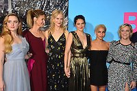 Kathryn Newton, Laura Dern, Nicole Kidman, Shailene Woodley, Zoe Kravitz &amp; Reese Witherspoon at the premiere for HBO's &quot;Big Little Lies&quot; at the TCL Chinese Theatre, Hollywood. Los Angeles, USA 07 February  2017<br /> Picture: Paul Smith/Featureflash/SilverHub 0208 004 5359 sales@silverhubmedia.com