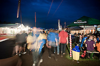 The food houses represent different countries and different food cultures. The street outside is heavily trafficked since everybody wants to visit. Photo: Eric Hampusgård/Scouterna