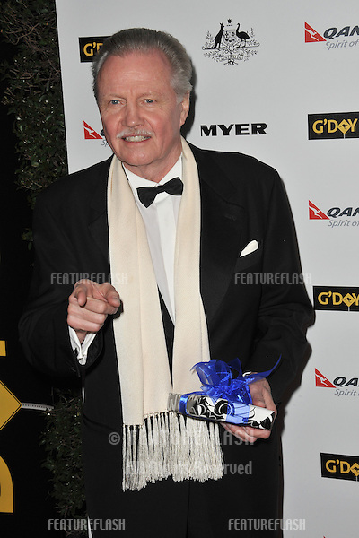 Jon Voight at the 2011 G'Day USA Black Tie Gala at the Hollywood Palladium..January 22, 2011  Los Angeles, CA.Picture: Paul Smith / Featureflash