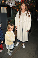 guest and Tamara Ecclestone at the Ivy Chelsea Garden's Guy Fawkes party, The Ivy Chelsea Garden, King's Road, London, England, UK, on Sunday 04 November 2018.<br /> CAP/CAN<br /> &copy;CAN/Capital Pictures