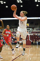 STANFORD, CA - DECEMBER 13:  Lindy La Rocque of the Stanford Cardinal during Stanford's 100-62 win over the Fresno State Bulldogs on December 13, 2008 at Maples Pavilion in Stanford, California.