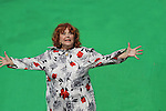 Brenda Vaccaro on green screen - Crackers - an Independent Short Film which is a dark comedy about an Italian chef Gus (Vincent D'Onofrio) and his wife Cat (BethAnn Bonner) who life is turned upside down by his mother-in-law Bidelia (Brenda Vaccaro) as it is filmed in South Amboy, New Jersey. These photos were taken on Sept. 16 and 17, 2010 on set. (Photo by Sue Coflin/Max Photos)