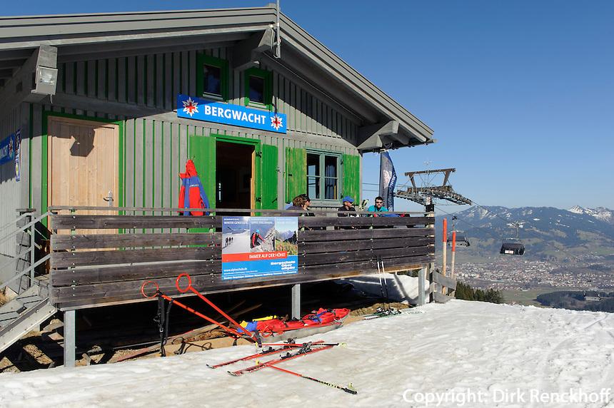 Skilift am Ofterschwanger Horn im Allg&auml;u, Bayern, Deutschland<br /> ski lift at  Ofterschwanger Horn, Allg&auml;u, Bavaria, Germany