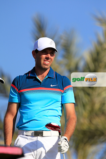 Charl Schwartzel (RSA) tees off the 11th tee during Thursday's Round 2 of the 2015 Commercial Bank Qatar Masters held at Doha Golf Club, Doha, Qatar.: Picture Eoin Clarke, www.golffile.ie: 1/22/2015