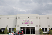 Exterior of Orchid Cellmark, located in Dallas, Texas.