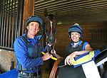 Bernie & Kate Dalton with Grade 1 Winner Diplomat at Westampton Farm and Training Center in Westampton, New Jersey