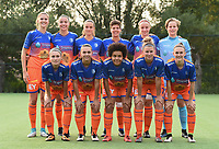 20170825 - WONDELGEM , BELGIUM : team of AA Gent Ladies with Lowiese Seynhaeve (1)  ,  Jody Vangheluwe (2)  ,  Emma Van Britsom (6)  ,  Chloe Vande Velde (10)  ,  Stephanie Soenens (11)  ,  Kassandra Missipo (12)  ,  Marie Minnaert (13)  ,  Chloe Van Mingeroet (17)  ,  Isabelle Illiano (18)  ,  Lotte De Wilde (20)  ,  Silke Van Wynsberghe (23  pictured during a friendly game between KAA Gent Ladies and VV Alkmaar  during the preparations for the 2017-2018 season , Friday 25 August  2017 ,  PHOTO Dirk Vuylsteke | Sportpix.Be