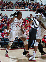 Stanford, Ca - Tuesday, Dec. 20, 2011: Stanford women's basketball during an 97-80 win over Tennessee at Maples Pavilion.