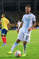 PEREIRA, COLOMBIA - JANUARY 18:  Argentina's Alexis Mac Allister during their CONMEBOL Pre-Olympic soccer game against Colombia at the Hernan Ramirez Villegas Stadium on January 18, 2020 in Pereira, Colombia. (Photo by Daniel Munoz/VIEW press/Getty Images)