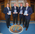 Sandy Jardine, John Greig, Ally McCoist and Ian Durrant launch Rangers Hall of Fame book