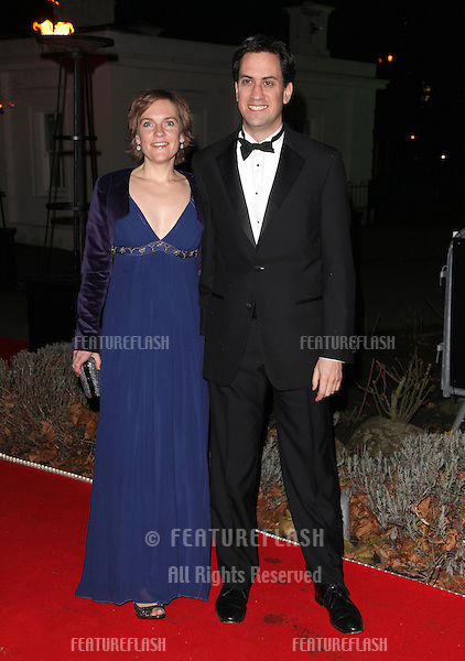 Ed Miliband and wife Justine arriving for The Sun Military Awards, at The Imperial War Museum, London. 06/12/2012 Picture by: Alexandra Glen / Featureflash