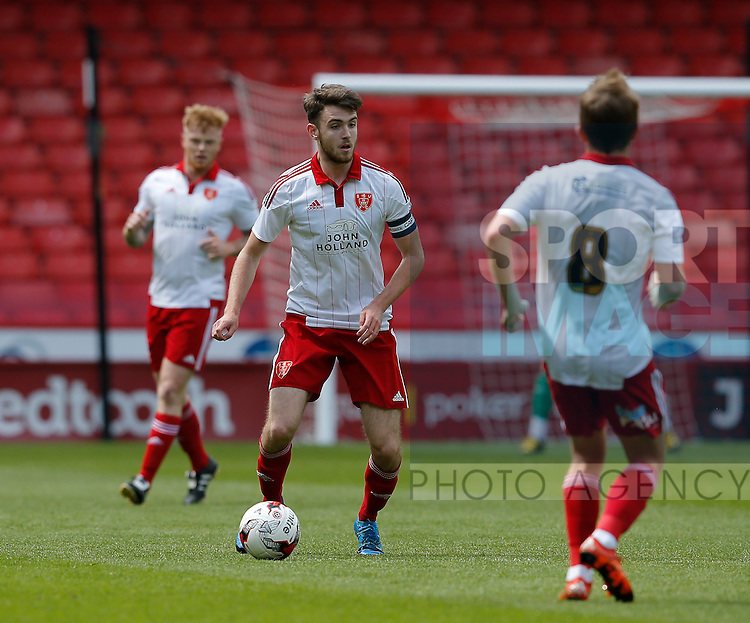 Ben Whiteman of Sheffield Utd in action during the PDL U21 Final at Bramall Lane Sheffield. Photo credit should read: Simon Bellis/Sportimage