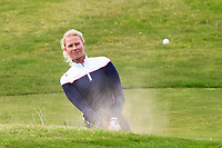 Cecilie BS Nielsen (DEN) in a bunker on the 1st during Round 1 of the Women's Amateur Championship at Royal County Down Golf Club in Newcastle Co. Down on Tuesday 11th June 2019.<br /> Picture:  Thos Caffrey / www.golffile.ie<br /> <br /> All photos usage must carry mandatory copyright credit (© Golffile | Thos Caffrey)