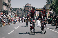 back from the sign-on podium<br /> <br /> 104th Tour de France 2017<br /> Stage 16 - Le Puy-en-Velay &rsaquo; Romans-sur-Is&egrave;re (165km)