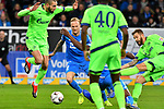 01.12.2018, wirsol Rhein-Neckar-Arena, Sinsheim, GER, 1 FBL, TSG 1899 Hoffenheim vs FC Schalke 04, <br /> <br /> DFL REGULATIONS PROHIBIT ANY USE OF PHOTOGRAPHS AS IMAGE SEQUENCES AND/OR QUASI-VIDEO.<br /> <br /> im Bild: SChuss von Guido Burgstaller (FC Schalke 04 #19)<br /> <br /> Foto © nordphoto / Fabisch