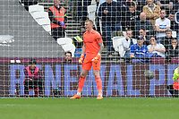 Jordan Pickford during West Ham United vs Everton, Premier League Football at The London Stadium on 13th May 2018