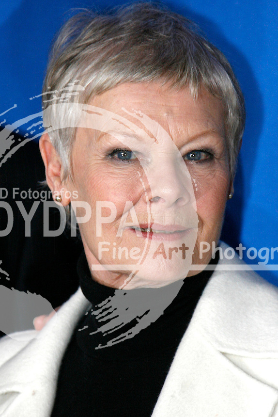 "Actress Judi Dench at the Berlinale 2007, 57. Internationale Filmfestspiele Berlin / 57th Berlin International Film Festival,  Photocall for ""Notes on a Scandal"""