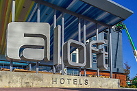 Aloft Hotel under construction in Westerville, Ohio