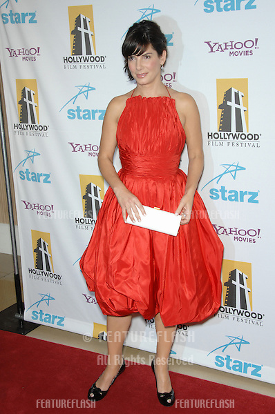 SANDRA BULLOCK at the 10th Annual Hollywood Awards Gala - the closing gala of the 2006 Hollywood Film Festival - at the Beverly Hills Hilton..October 23, 2006  Los Angeles, CA.Picture: Paul Smith / Featureflash