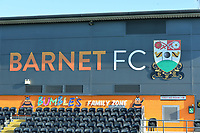 General view during Barnet vs Bristol Rovers, Emirates FA Cup Football at the Hive Stadium on 11th November 2018