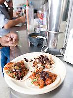 Wayan'e taco stand in Merida, Yucatan, Mexico