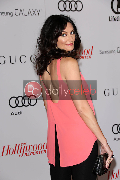 Madchen Amick<br /> at The Hollywood Reporter Women in Entertainment Breakfast, Beverly Hills Hotel, Beverly Hills, CA 12-11-13<br /> David Edwards/Dailyceleb.com 818-249-4998