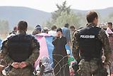 Grenze MK / GR_Flüchtlinge