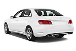 Car pictures of rear three quarter view of a 2015 Mercedes Benz Classe E E220 4 Door Sedan 2WD Angular Rear