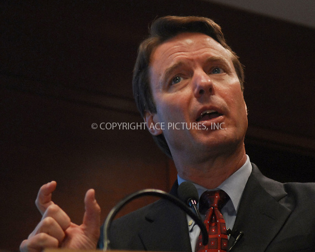 "WWW.ACEPIXS.COM . . . . . ....February 27, 2007, New York City.....Democratic presidential candidate John Edwards addresses the media following the ""Working Cities"" Leadership Workshop Forum held at Baruch College in New York City.....Please byline: KRISTIN CALLAHAN - ACEPIXS.COM.. . . . . . ..Ace Pictures, Inc:  ..(646) 769 0430..e-mail: info@acepixs.com..web: http://www.acepixs.com"