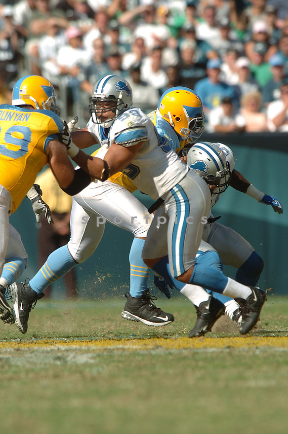 DEWAYNE WHITE, of the Detroit Lions, in action during the LIons games against the Philadelphia Eagles, in Philadelphia, PA on September 23, 2007.  The Eagles won the game 56-21...........