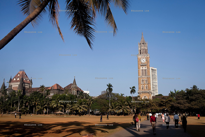 The clock tower in central Mumbai, India. Photo by Suzanne Lee