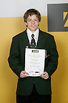 Gymnastics Artistic/Tumbling Boys Winner - Misha Koudinov. ASB College Sport Young Sportsperson of the Year Awards 2006, held at Eden Park on Thursday 16th of November 2006.<br />
