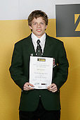 Gymnastics Artistic/Tumbling Boys Winner - Misha Koudinov. ASB College Sport Young Sportsperson of the Year Awards 2006, held at Eden Park on Thursday 16th of November 2006.<br />