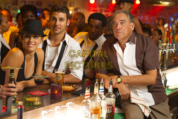 KATHRYN McCORMICK, RYAN GUZMAN, STEPHEN ?tWitch? BOSS & MARIO ERNESTO SANCHEZ.in Step Up 4: Miami Heat (2012) .(Step Up Revolution).*Filmstill - Editorial Use Only*.CAP/FB.Supplied by Capital Pictures.