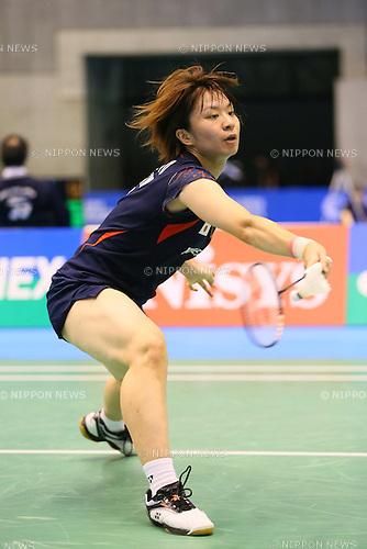 Yui Hashimoto (JPN), <br /> SEPTEMBER 20, 2013 - Badminton : <br /> Yonex Open Japan 2013 <br /> Women's Singles <br /> at Tokyo Metropolitan Gymnasium, Tokyo, Japan. <br /> (Photo by YUTAKA/AFLO SPORT) [1040]