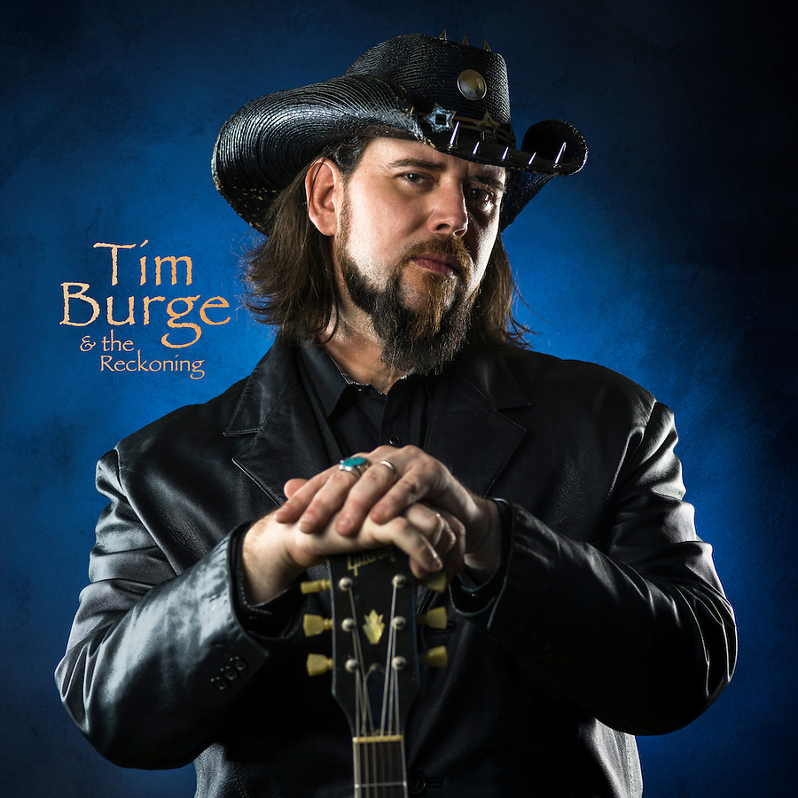 Tim Burge - Musician. Promotional Images shot in studio by JDrago Photography