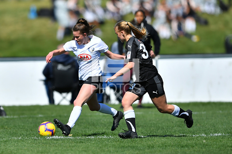 Commerce City, CO - Saturday April 27, 2019: U.S. Soccer Girl's Development Academy Spring Showcase at Dick's Sporting Goods Park.