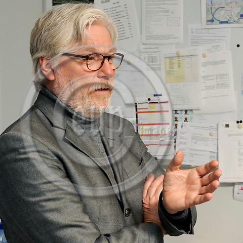 Brussels-Belgium - 28 January 2009 -- Werner BALSEN, German journalist and correspondent -- Photo: Horst Wagner / eup-images