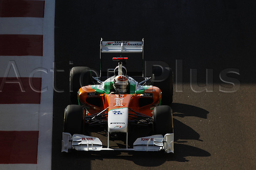 12 11 2011  FIA Formula One World Championship 2011 Grand Prix of Abu Dhabi 14 Adrian Sutil ger Force India F1 team motor aviation Formula 1 F1 F World Cup GP UAE Abu Dhabi