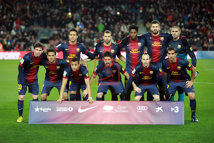 FC Barcelona vs Sevilla FC: 2-1 - LFP League BBVA 2012/13 - Game: 25.