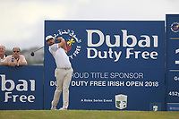 Erik Van Rooyen (RSA) during the 3rd round of the Dubai Duty Free Irish Open, Ballyliffin Golf Club, Ballyliffin, Co Donegal, Ireland.<br /> Picture: Golffile | Thos Caffrey<br /> <br /> <br /> All photo usage must carry mandatory copyright credit (&copy; Golffile | Thos Caffrey)
