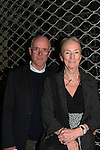 """All My Children Kathleen Chalfant poses with her husband Henry as she stars in Red Dog Howls"""" as it opens on September 24, 2012 at New York Theatre Workshop in New York City, New York with the after party at Phebe's.  (Photo by Sue Coflin/Max Photos)"""