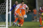 02 May 2015: Carolina's Leo Osaki (JPN) clears the ball off of the line. The Carolina RailHawks hosted the Tampa Bay Rowdies at WakeMed Stadium in Cary, North Carolina in a North American Soccer League 2015 Spring Season match. The game ended in a 1-1 tie.