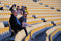 15th March 2020, Wellington, New Zealand;  Very few Phoenix fans during the A-League - Wellington Phoenix versus Melbourne Victory football match at Sky Stadium in Wellington on Sunday the 15th March 2020.