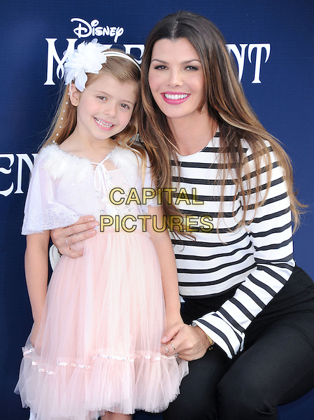 Ali Landry and daughter attends The World Premiere of Disney's &quot;Maleficent&quot; held at The El Capitan Theatre in Hollywood, California on May 28,2014                                                                               <br /> CAP/DVS<br /> &copy;DVS/Capital Pictures