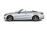 Car driver side profile view of a 2018 Mercedes Benz E Class Base 2 Door Convertible