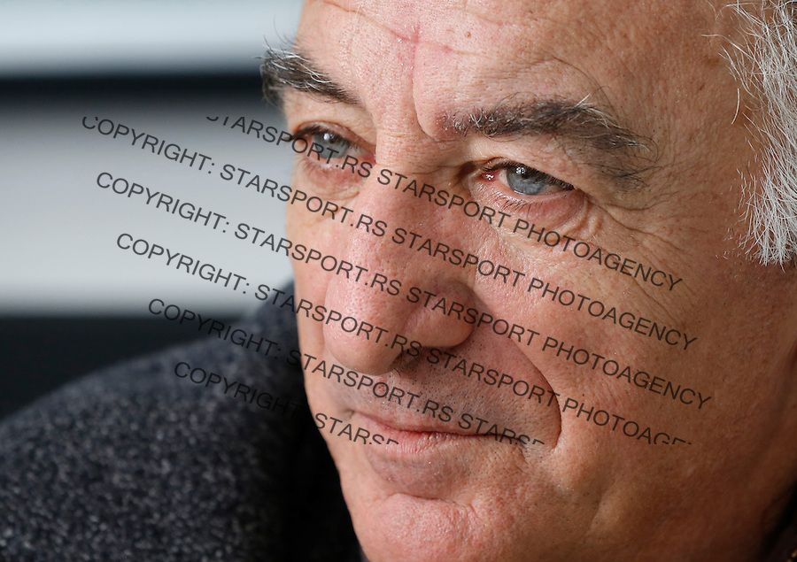 Fudbal <br /> Momcilo Moca Vukotic direktor omladinske skole FK Partizan<br /> Beograd, 15.11.2013.<br /> foto: Srdjan Stevanovic/Starsportphoto &copy;